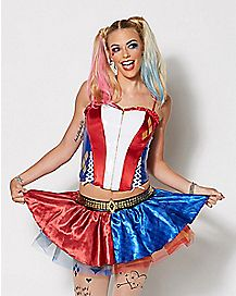 Suicide Squad Harley Quinn Corset