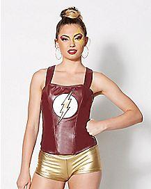 The Flash Corset - DC Comics
