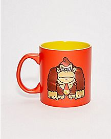 Donkey Kong Mario Kart Coffee Mug - 20 oz.