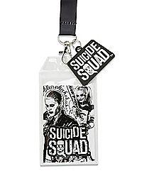 Harley Quinn Joker Suicide Squad Lanyard