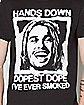 Hands Down Pineapple Express T shirt