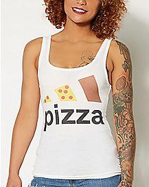 Pizza Block Tank Top