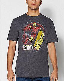 Profile Iron Man T Shirt - Marvel Comics