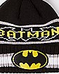 Batman New Era Vintage Pom Beanie - DC Comics