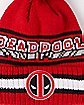 New Era Vintage Pom Deadpool Beanie