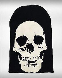 Glow in the Dark Skull Ski Mask