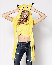 Pikachu Pokemon Snood Hat