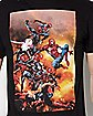Spider Heros T Shirt - Marvel Comics