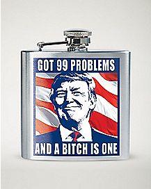 Trump Got 99 Problems Flask - 6 oz.