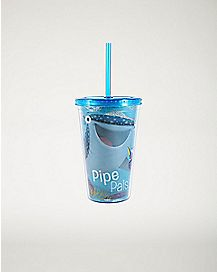 Pipe Pals Finding Dory Cup With Straw - 16 oz.