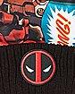 Comic Deadpool Pom Beanie Hat