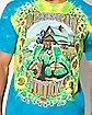 Tie Dye Turtle Grateful Dead T Shirt