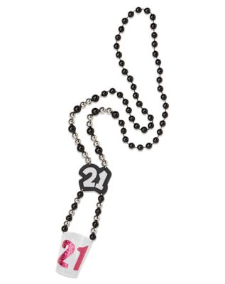 21st Birthday Beads Shot Glass Necklace Sex Toy by Spencer's
