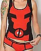 Deadpool Tank Top and Panties Set - Marvel