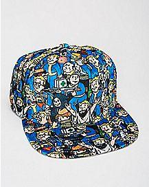 Velvet Fallout Snapback Hat