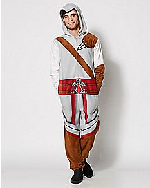 Adult Assassin's Creed Pajama Costume