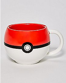 Molded Pokeball Coffee Mug 11 oz. - Pokemon