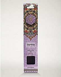 Lavender Incense Sticks with Holder - 40 Pack