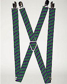Haha The Joker Suspenders - DC Comics