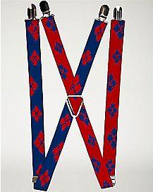 Harley Quinn Suicide Squad Suspenders