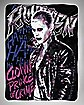 Suicide Squad Rotten Joker Fleece Blanket - DC Comics