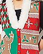 3D Gingerbread Ugly Christmas Sweater Vest