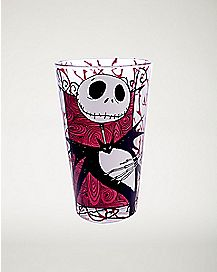 Thorny Jack Skellington Pint Glass 16 oz. - The Nightmare Before Christmas