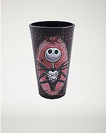 Crossheart Jack Skellington Pint Glass 16 oz. - The Nightmare Before Christmas