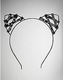Bondage Cat Ears Headband