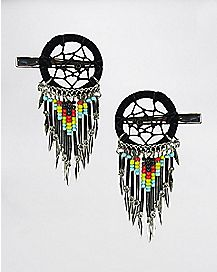 Dream Catcher Bead Clips