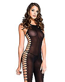 Side Cutout Bodystocking