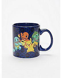 Starter Group Pokemon Coffee Mug - 20 oz.
