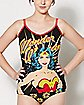 Wonder Woman Tank Top and Panties Set - DC Comics