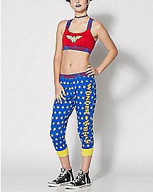 Wonder Woman Sports Bra Jogger Set - DC Comics