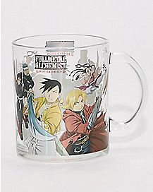 Fullmetal Alchemist Glass Coffee Mug - 16 oz.