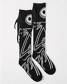 Jack Skellington Knee High Socks - The Nightmare Before Christmas