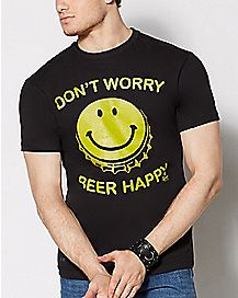 Don't Worry Beer Happy T Shirt