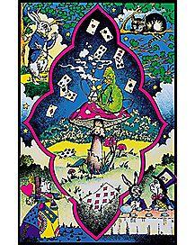 Blacklight Wonderland Poster