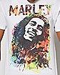 Portrait Bob Marley T Shirt