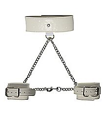 Sparkle Collar Cuff Set - Pure Restraint