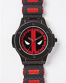 Deadpool Red Bullet Watch - Marvel Comics