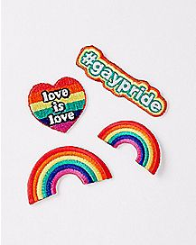 Gay Pride Patch Set