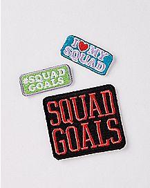 Squad Goals Patch Set