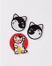 Lucky Cat Patch Set