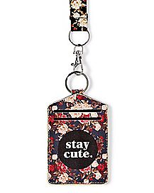 Stay Cute Lanyard