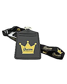 Queen of Everything Lanyard
