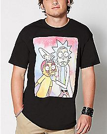 e7d72c420 Official Rick and Morty T Shirts & Merchandise - Spencer's
