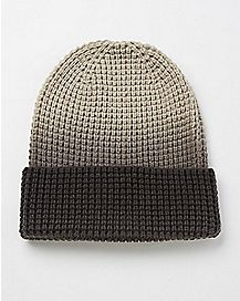 Ombre Cuff Beanie Hat