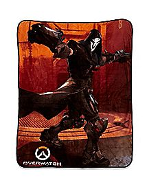 Reaper Overwatch Fleece Blanket