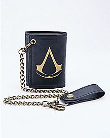 Assassins Creed Live By The Creed Chain Wallet